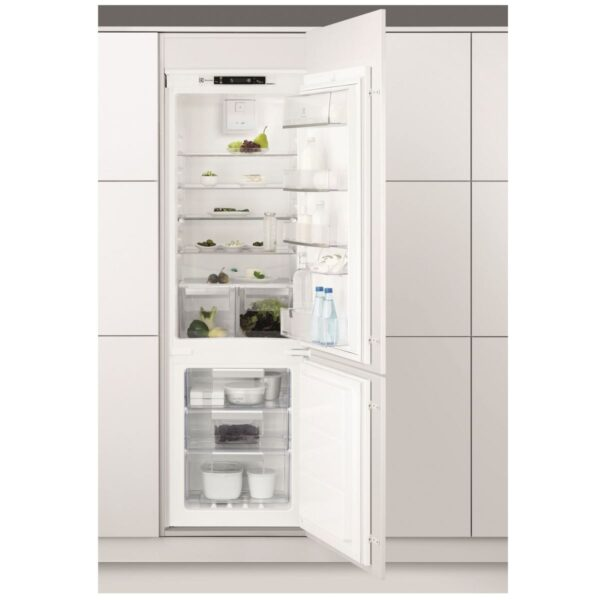 Combina frigorifica incorporabila Electrolux ENN2853COW, No Frost, 263 l, Clasa A+, H 178 cm