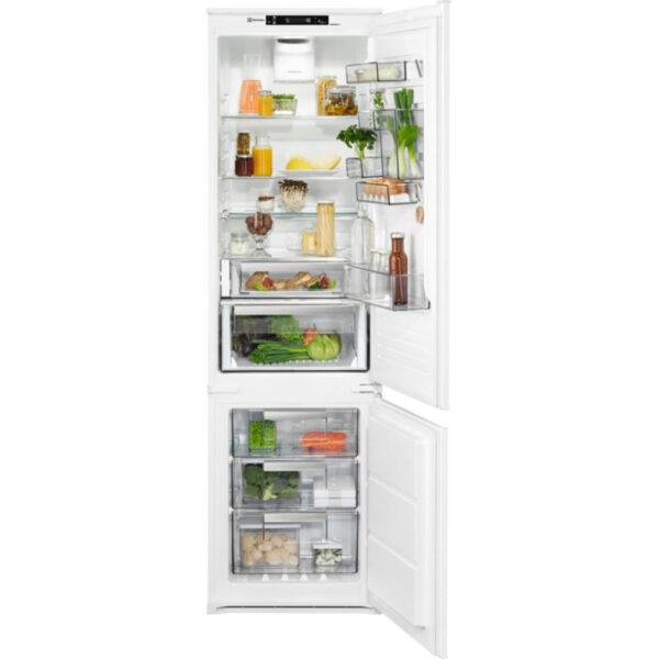 Combina frigorifica incorporabila Electrolux ENN3074EFW, No Frost Inteligent, 267 l, Clasa A++, H 188,4 cm