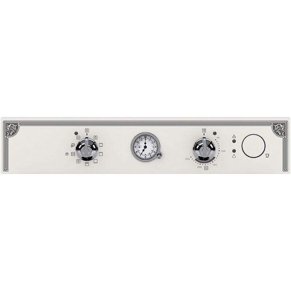 Cuptor incorporabil Electrolux EOA5220AOW, Electric, 72 l, 9 functii, Timer analogic, Retro Alb