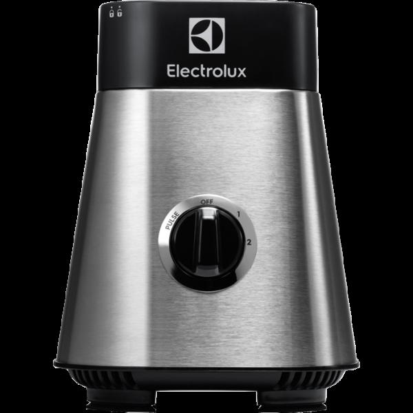 Blender Electrolux Sport ESB2900, 400 W, rasnita, tocator 500ml, recipient 1x600 ml, recipient 2x300ml, STICK pentru racire, capac cu maner pentru transport, Inox