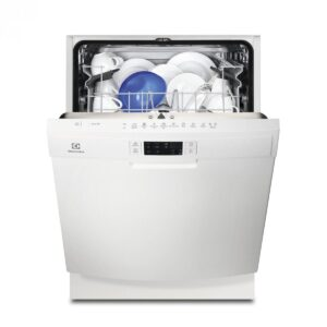 Masina de spalat vase Electrolux ESF5512LOW Independenta, 13 seturi, AirDry, 60 cm, 6 programe, Afisaj digital, Motor Inverter, Clasa A+, Alb