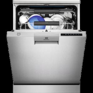 Masina de spalat vase Electrolux ESF8586ROX, Independenta, 15 seturi, Real Life, AirDry, 60 cm, 7 programe, Motor Inverter, Touch control, Clasa A++, Inox