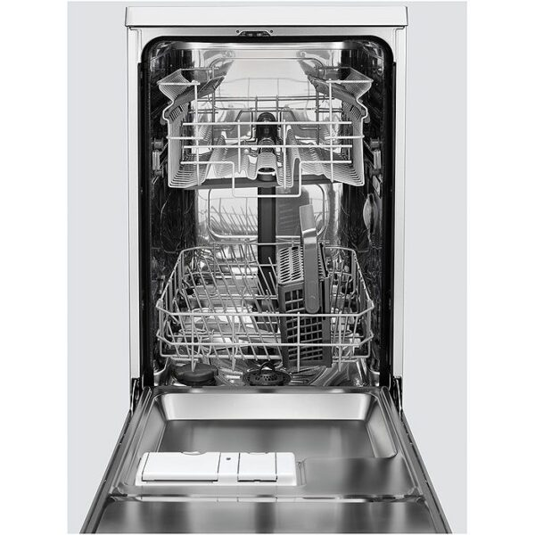 Masina de spalat vase Electrolux ESI4201LOX, Partial incorporabila, 45 cm, 9 seturi, 5 programe, Display LED, Clasa A+, Inox