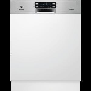 Masina de spalat vase Electrolux ESI5550LOX, Partial incorporabila, 60 cm, 13 seturi, 6 programe, AirDry, Afisaj digital, Motor Inverter, Clasa A+++