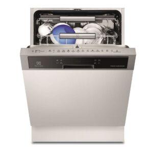 Masina de spalat vase Electrolux ESI8730RAX, Partial incorporabila, 15 seturi, Clasa A+++, 6 programe, Touch control, TimeManager, 60 cm, Inox