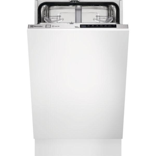 Masina de spalat vase Electrolux ESL4582RA,Total incorporabila, 45 cm, 9 seturi, 6 programe, AirDry, Motor inverter, Afisaj digital, Clasa A++