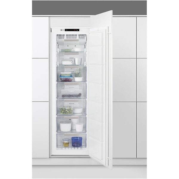 Congelator incorporabil Electrolux EUN2244AOW, No Frost, 208 l, A+, H 178 cm