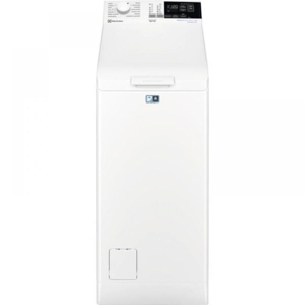 Masina de spalat cu incarcare verticala Electrolux EW6T4262I, Perfect Care 600, 6 kg, 1200 rpm, alb, A+++, Alb