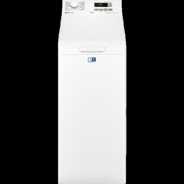 Masina de spalat cu incarcare verticala Electrolux EW6T5261, Perfect Care 600, 6kg, 1200rpm, Clasa A+++, Alb