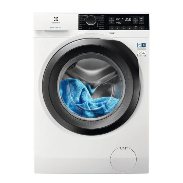 Masina de spalat rufe Electrolux PerfectCare EW7F249S, 9 kg, 1400 rpm, A+++ -30%, SteamCare System, Display, Alb