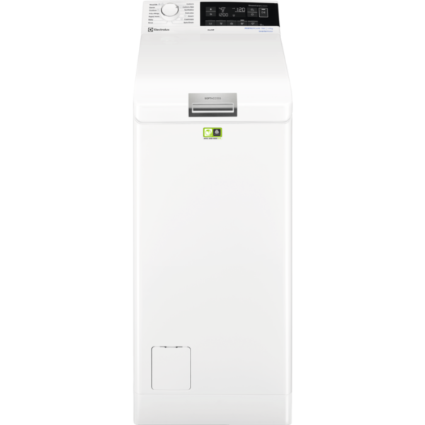 Masina de spalat cu incarcare verticala Electrolux EW7T3372, 7 kg, 1300 rpm, Display LCD, A+++-10%, Alb