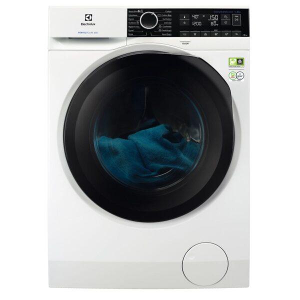 Masina de spalat rufe Electrolux PerfectCare EW8F248B, 8 kg, 1400 rpm, A+++ -50%, SteamCare System, Display, ÖKOInverter, Alb