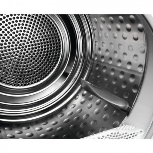 Uscator de rufe Electrolux EW8H259ST, Pompa de caldura, 9Kg, Clasa A++, Display, Inverter, Alb