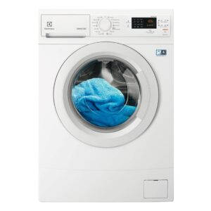 Masina de spalat rufe Electrolux CompactCare EWS31274NA, 7 kg, 1200 RPM, Clasa A+++, Time Manager, Display, Slim, Alb
