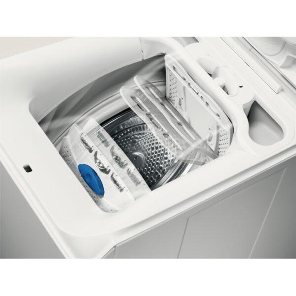 Masina de spalat rufe cu incarcare verticala Electrolux EWT1064ERW, 6 kg, 1000 rpm, A++, LCD, TimeManager, Alb