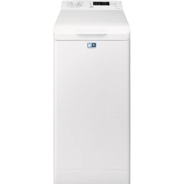 Masina de spalat rufe cu incarcare verticala Electrolux EWT1262IDW, 1200 RPM, 6 kg, Clasa A++, LCD, Alb
