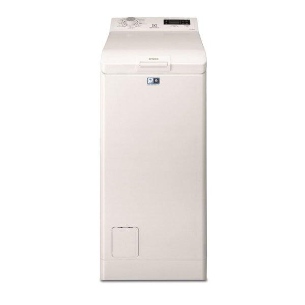 Masina de spalat rufe cu incarcare verticala Electrolux EWT1276ELW, 7 kg, 1200 rpm, A+++, LCD mediu, SOFT OPENING, TimeManager, Alb
