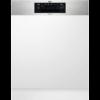 Masina de spalat vase AEG FEE62700PM, Partial incorporabila, 60 cm, 15 seturi, 6 programe, ProClean, AirDry, Motor Inverter, Afisaj digital, Clasa A++