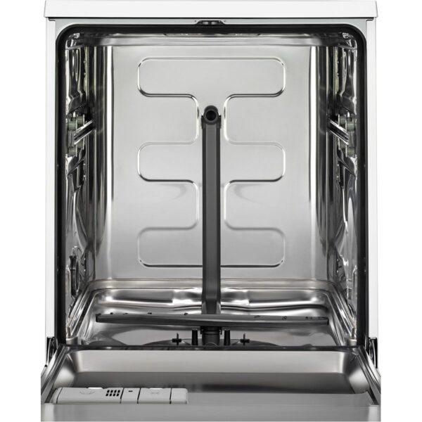 Masina de spalat vase AEG FFB53610ZM, Independenta, 60 cm, 13 seturi, 5 programe, AirDry, Motor Inverter, Afisaj digital, A+++, Inox