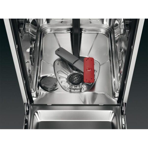 Masina de spalat vase AEG FFB63400PM, Independenta, 45 cm, 9 seturi, 7 programe, Pro Clean, AirDry, Motor Inverter, Afisaj digital, Clasa A+++, Inox