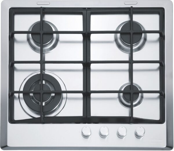 Plita incorporabila Franke Multi Cooking 600 FHM 604 3G TC XT C, 4 arzatoare gaz, 60 cm, Fonta, Inox