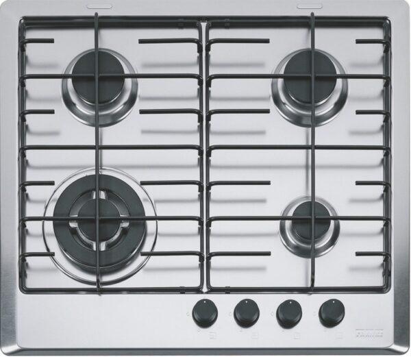 Plita incorporabila Franke Multi Cooking 600 FHM 604 3G TC XT E, 4 arzatoare gaz, 60 cm, Inox