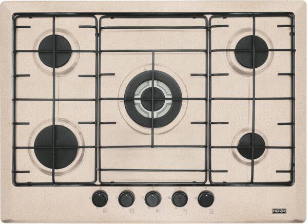 Plita incorporabila Franke Multi Cooking 700 FHM 705 4G TC OA E , 5 arzatoare gaz, 70 cm, Avena