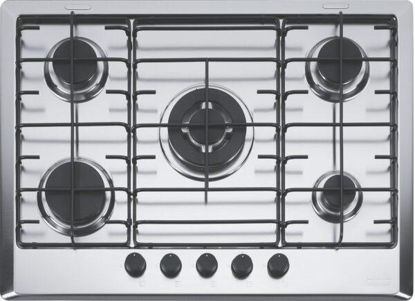 Plita incorporabila Franke Multi Cooking 700 FHM 705 4G TC XS E , 5 arzatoare gaz, 70 cm, Inox