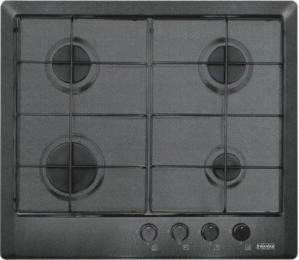 Plita incorporabila Franke Multi Cooking MR FHMR 604 4G GF E , 4 arzatoare gaz, 60 cm, Grafite