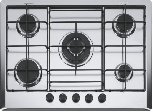Plita incorporabila Franke Multi Cooking MR FHMR 705 4G TC XS E , 5 arzatoare gaz, 70 cm, Inox