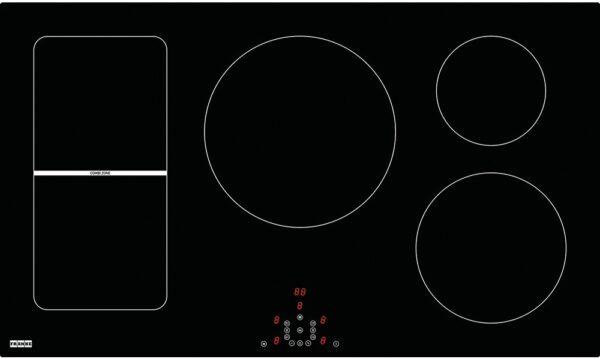 Plita incorporabila Franke Maris FHMR 905 3I 1FLEXI, 5 zone inductie (2 Flexi), 88 x 52 cm, Touch Control, Sticla neagra