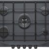 Plita incorporabila Franke Trend Line 750 FHTL 755 4G TC GF E , 5 arzatoare gaz, 75 cm, Grafite