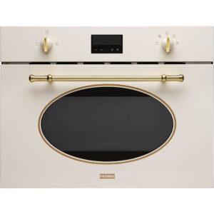 Cuptor cu microunde incorporabil Franke Classic Line FMW 380 CL G PW 131.0302.179, 38l, Grill, LCD, Panna