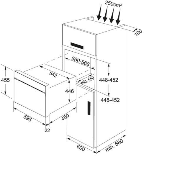 Cuptor cu microunde Franke FMW 380 CS G XS Inox satinat