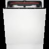 Masina de spalat vase total incorporabila AEG FSB53907Z, 14 seturi, AirDry, Sertar MaxiFlex, Latime 59.6 cm, 7 programe, Usa slide, Motor inverter, Afisaj digital, Indicator luminos pe podea, Clasa A+++