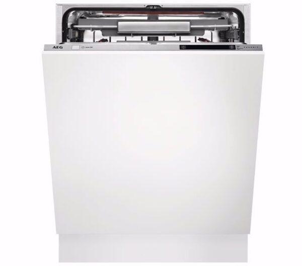 Masina de spalat vase AEG FSE93807P, Incorporabila, 60 cm, 13 seturi, 7 programe, AirDry, Motor Inverter, Incarcare la jumatate, Clasa A+++
