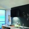 Hota Franke Smart FSFL 905 BK Glass Black, Decorativa, Intensiv 500 m3/h, 90 cm, Sticla neagra
