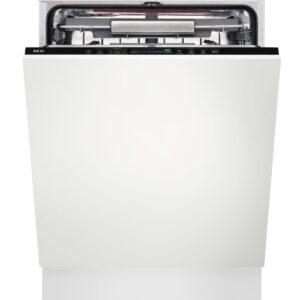 Masina de spalat vase AEG FSK93707P, Total incorporabila, 60 cm, 15 seturi, 7 programe, AirDry, Motor Inverter, Time Beam, Clasa A+++