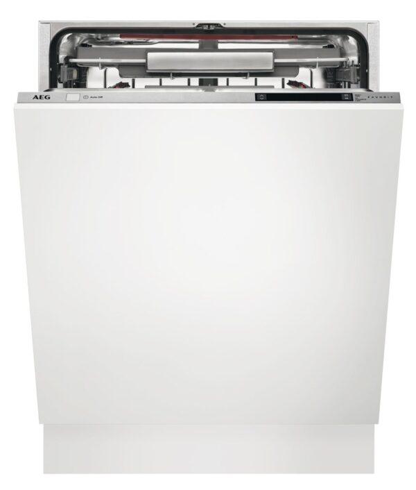 Masina de spalat vase AEG FSK93800P, Total incorporabila, 60 cm, 13 seturi, 8 programe, 5 temperaturi, ProClean, AirDry, Motor Inverter, Afisaj digital, Time Beam, Clasa A++