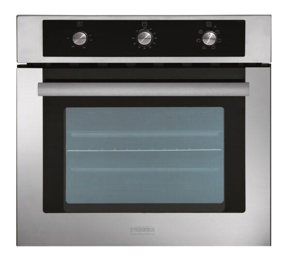 Cuptor incorporabil Franke Glass Fashion GF 62 M XS 116.0321.526, Electric, 6+1 programe, 58 l, clasa energetica A, Negru/Inox