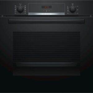 Cuptor incorporabil Bosch HBA554EB0, Electric, 71 l, Clasa A, Negru