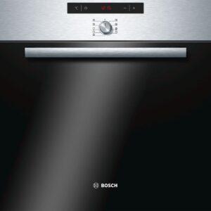 Cuptor incorporabil Bosch HBA64B056F, 6 functii, sistem de autocuratare cu piroliza, display cu simboluri, CoolDoor, Inox