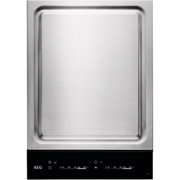 Plita incorporabila AEG TeppanYaki HC452601EB, Touch Control, sticla vitroceramica, 36 cm