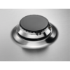 Plita incorporabila AEG HGB64301UM, Gaz, Latime 60 cm, 4 arzatoare, Aprindere electrica integrata, Arzator WOK, Control cu butoane, Dispozitiv siguranta, Gratare de fonta, Inox