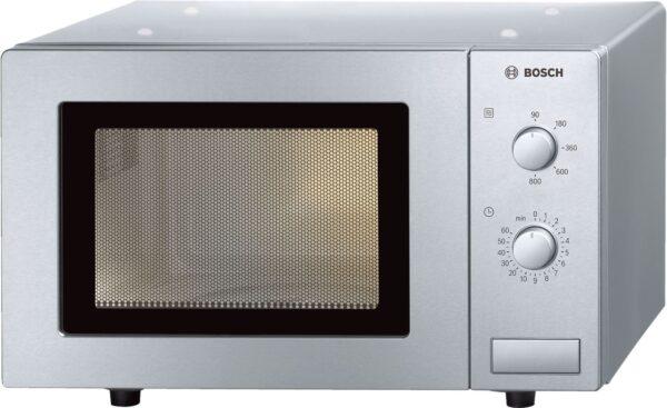 Cuptor cu microunde Bosch HMT72M450, 17 l, 800W, Argintiu