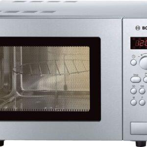 Cuptor cu microunde Bosch AutoPilot8 HMT75G451, 800 W, 17 L, Grill 1000 W, Display, Argintiu