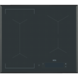 Plita incorporabila AEG IAE64843FB, Control touch, 4 Arzatoare, Left Bridge, MaxiSense®, 60 cm, Negru