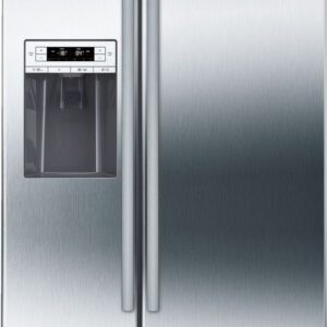 Frigider side by side Bosch KAD90VI20, No Frost, 533 L, A+, Afisaj digital, Inox