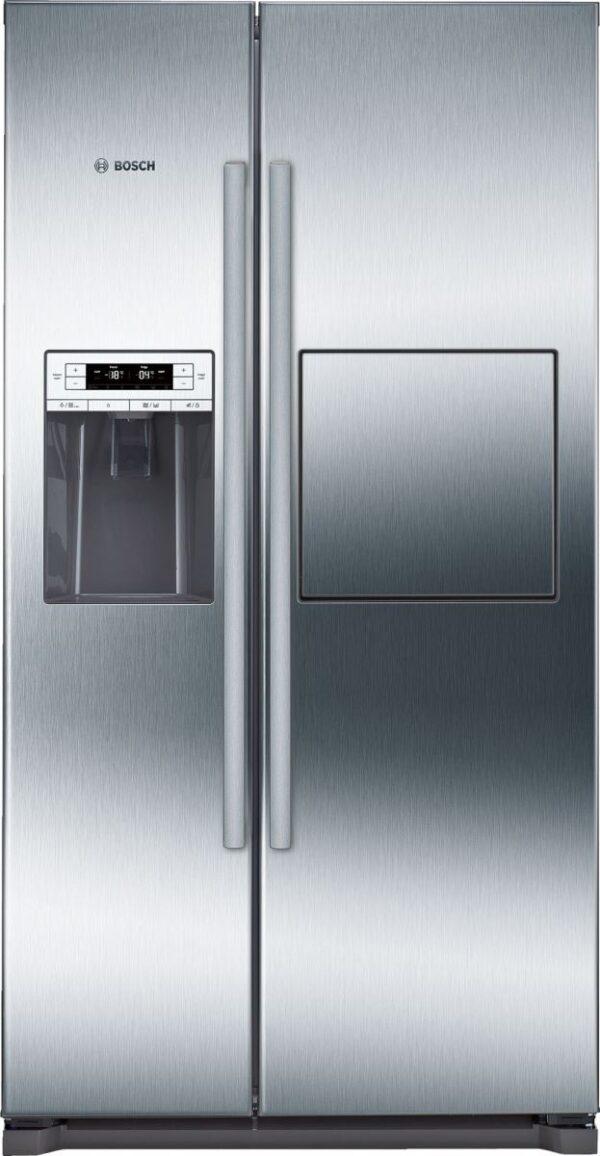 Frigider Side by Side Bosch Serie 6 KAG90AI20, 522 l, No Frost, A+, Dozator apa si gheata, homeBar, Inox