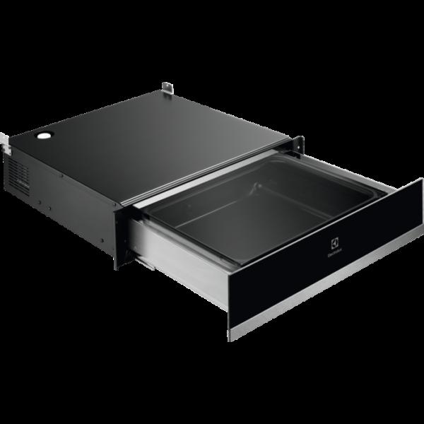 Aparat vidat profesional Electrolux KBV4X, Capacitate vidare 8 L, Display electronic, Control touch, Negru/Inox antiamprenta
